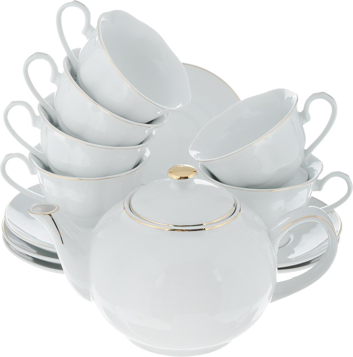 Сервиз чайный Loraine, 13 предметов чайный сервиз 13 предметов alex чайный сервиз 13 предметов
