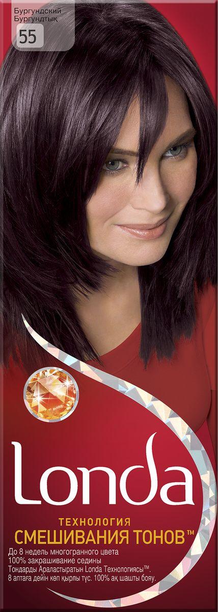 LONDA Крем-краска для волос стойкая 55 БургундскийLC-81212677Ищите цвет, полный жизни, который бы сохранился надолго? Крем-краска для волос Londa идеально вам подойдет. Эксклюзивная система окрашивания дарит вам до 8 недель многогранного цвета. Это возможно благодаря технологии смешивания тонов, которая объединяет богатые оттенки, и бальзаму Стойкий цвет, который надолго сохранит ваш насыщенный цвет. 100% закрашивание седины.Товар сертифицирован.