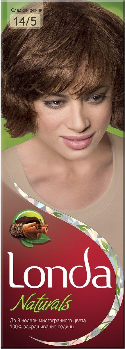 LONDA Крем-краска для волос стойкая Naturals 14/5 Сладкий финикLC-81212720Ищите цвет, полный жизни, который бы сохранился надолго? Крем-краска для волос Londa идеально вам подойдет. Эксклюзивная система окрашивания дарит вам до 8 недель многогранного цвета. Это возможно благодаря технологии смешивания тонов, которая объединяет богатые оттенки, и бальзаму Стойкий цвет, который надолго сохранит ваш насыщенный цвет. 100% закрашивание седины.Товар сертифицирован.