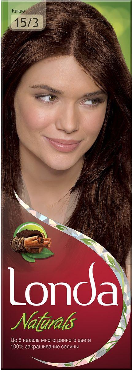 LONDA Крем-краска для волос стойкая Naturals 15/3 КакаоLC-81212721Ищите цвет, полный жизни, который бы сохранился надолго? Крем-краска для волос Londa идеально вам подойдет. Эксклюзивная система окрашивания дарит вам до 8 недель многогранного цвета. Это возможно благодаря технологии смешивания тонов, которая объединяет богатые оттенки, и бальзаму Стойкий цвет, который надолго сохранит ваш насыщенный цвет. 100% закрашивание седины.Товар сертифицирован.