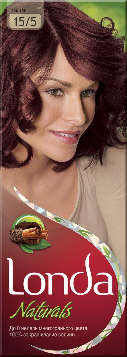 LONDA Крем-краска для волос стойкая Naturals 15/5 КаштанLC-81212722Ищите цвет, полный жизни, который бы сохранился надолго? Крем-краска для волос Londa идеально вам подойдет. Эксклюзивная система окрашивания дарит вам до 8 недель многогранного цвета. Это возможно благодаря технологии смешивания тонов, которая объединяет богатые оттенки, и бальзаму Стойкий цвет, который надолго сохранит ваш насыщенный цвет. 100% закрашивание седины.Товар сертифицирован.