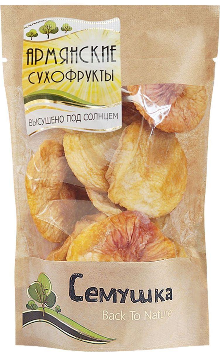 Семушка персики сушеные, 130 г lorado персики половинки в легком сиропе 850 мл