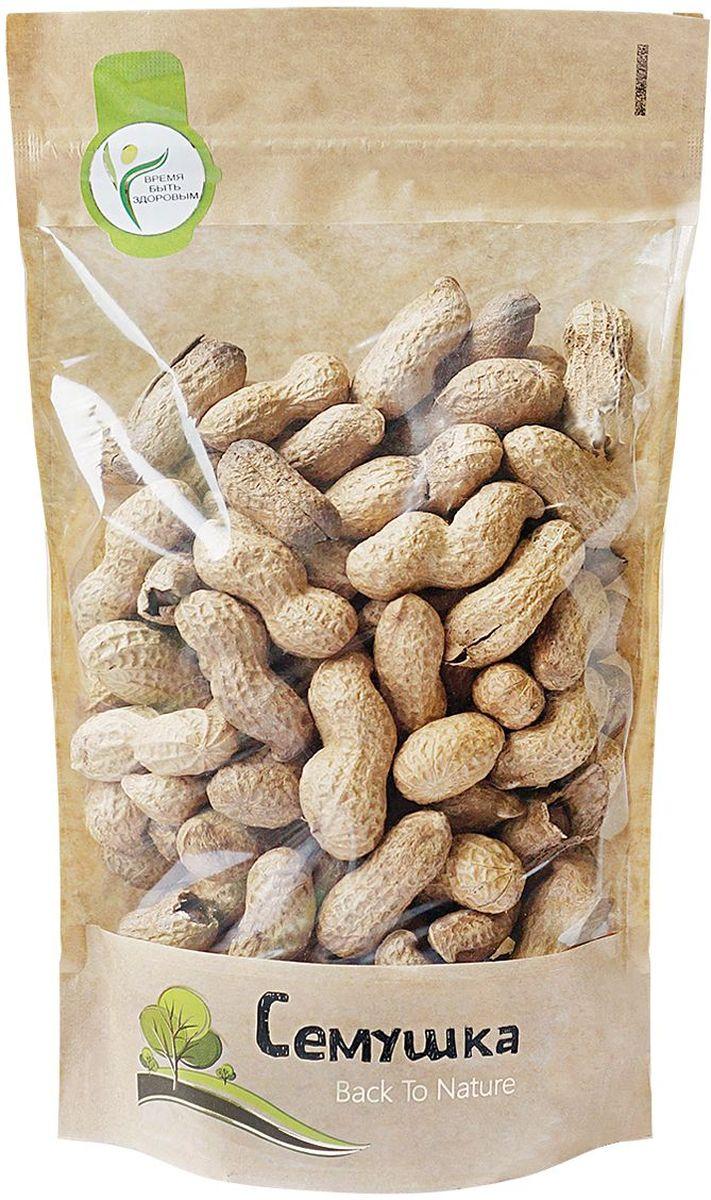 Семушка арахис в скорлупе жареный, 250 г4607114692242Арахис по питательной ценности превосходит все орехи. Является полноценным заменителем животных белков, так как по содержанию и составу белков превосходит даже мясо. Снижает риск сердечно-сосудистых заболеваний и активизирует иммунную систему.
