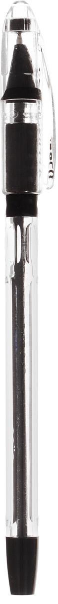 Cello Ручка шариковая Gripper цвет чернил черный305 226010Шариковую ручку Cello Gripper отличают продуманная функциональность и удобство при письме.Прозрачный трехгранный корпус, выступы в его средней части, специальная подушечка для пальцев из антибактериального каучука - все это создает дополнительный комфорт.Стреловидный пишущий узел обеспечивает идеальную тонкую линию письма.