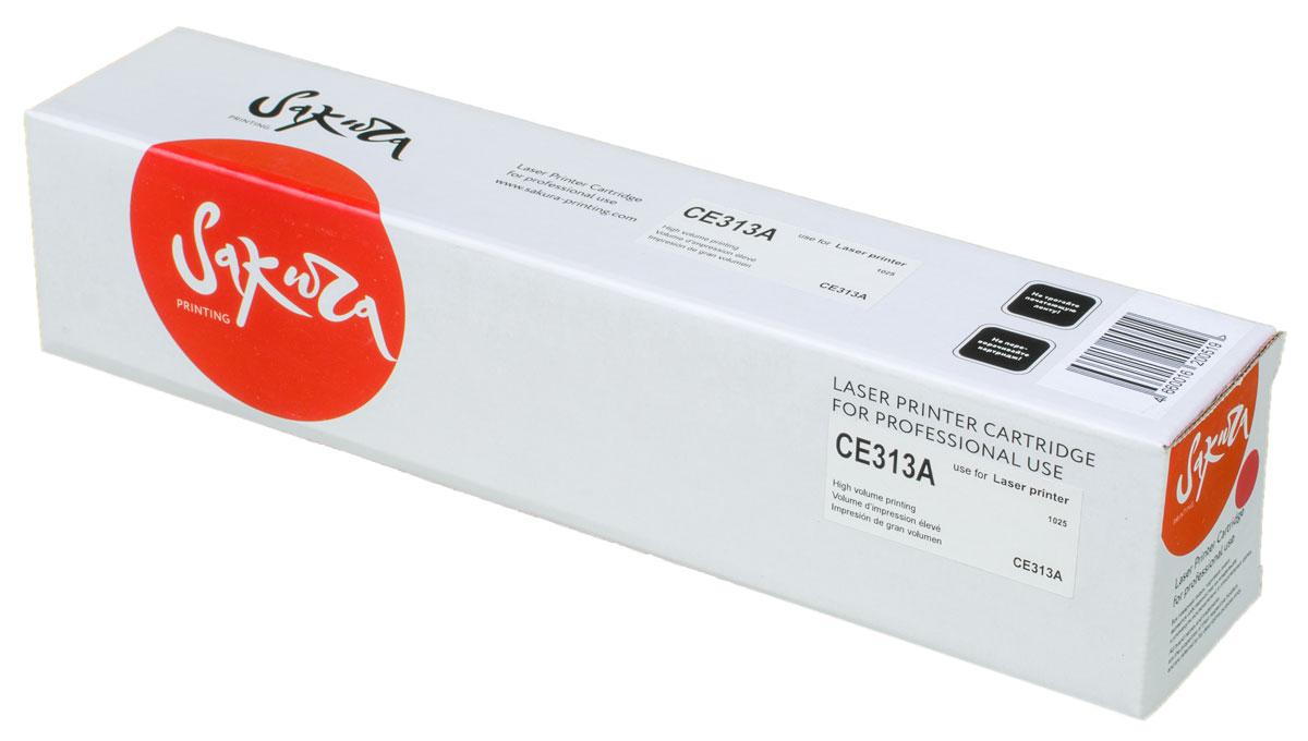 Sakura CE313A, Magenta тонер-картридж для HP LaserJet Pro CP1025/CP1025NWSACE313AТонер-картридж Sakura CE313A для лазерных принтеров HP LaserJet Pro CP1025/CP1025NW является альтернативным решением для замены оригинальных картриджей. Он печатает с тем же качеством и имеет тот же ресурс, что и оригинальный картридж. В картриджах компании Sakura используется химический синтезированный тонер, который в отличие от дешевого тонера из перемолотого полимера, не царапает, а смазывает печатающий вал, что приводит к возможности многократных перезаправок картриджей. Такой подход гарантирует долгий срок службы принтера, превосходное качество и стабильность печати.Тонер-картриджи Sakura производятся при строгом соответствии стандартам ISO 9001 и ISO 14001, что подтверждено международными сертификатами.