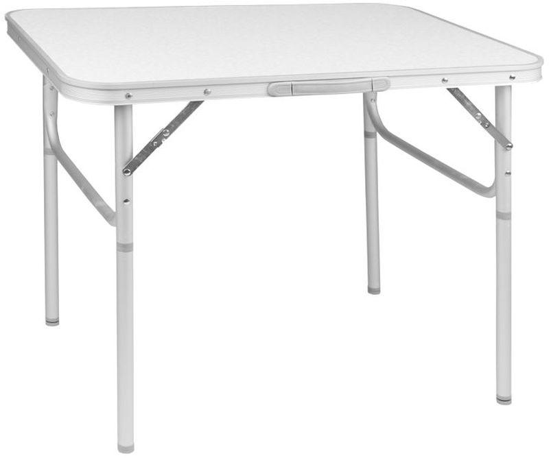 Стол складной Trek Planet Country 75, кемпинговый, 75 х 55 х 25/60 см70773Очень легкий стол, всего 2,6 кг, Country 75 с ножками складывающимися в столешницу и ручкой для переноски. Если поверхность не очень ровная, высоту ножек стола можно слегка отрегулировать с помощью пластиковых шайб в основании каждой ножки.Ножки крепятся на внутренней поверхности стола с помощью пластиковых фиксаторов. - Столешница из огнеупорного пластика- Очень легкий вес- Каждую ножку можно слегка отрегулировать на неровной поверхности за счет пластиковых шайб- Откручивающиеся ножки- Пластиковый крепеж для ножек на внутренней стороне столешницы- Ручка для переноскиХарактеристики: Материал: Столешница: огнеупорный пластикРама: 25 мм алюминийРазмер в разложенном виде: 75х55х25/60 смРазмер в сложенном виде: 75х55х2,5 смВес: 2,6 кгНагрузка: 30 кгПроизводство: КитайАртикул: 70773