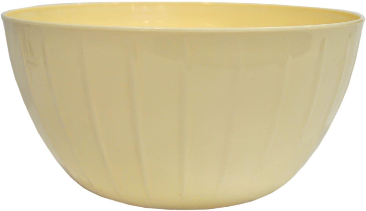 Миска Giaretti Fiesta, цвет: сливочный, 5 лGR1877СЛС линией Fiesta вам не нужно тратить время на поиск подходящих друг другу товаров – все продукты выполнены в одном стиле. Поэтому, вам не обойтись без миски для смешивания продуктов – одного из самых необходимых и функциональных видов посуды. В ней можно перемешивать и взбивать, а устойчивое дно не будет скользить по поверхности стола.