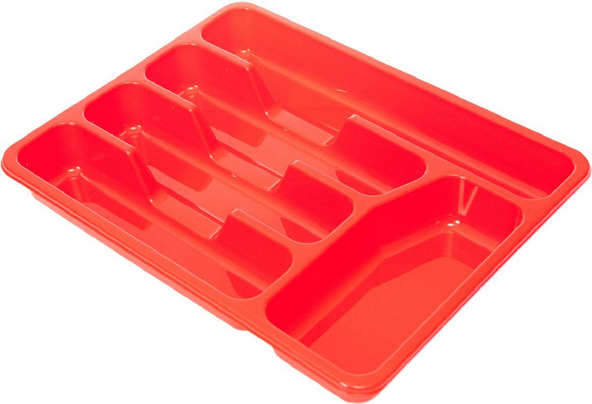 Лоток для столовых приборов Plastic Centre, цвет: красный, 33 х 26 х 4,3 смПЦ1560КРЛоток для столовых приборов Plastic Centre поможет содержать ящик, где хранятся ложки и вилки, в полном порядке. Прочный пластик легко моется и прослужит долгое время.