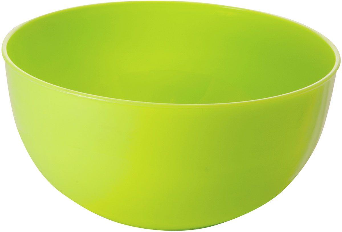 """Салатник Plastic Centre """"Galaxy"""", цвет: салатовый, 2,5 л"""
