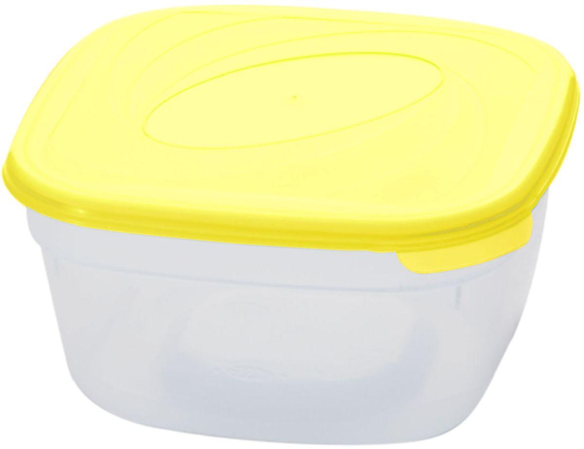Емкость для СВЧ Plastic Centre Galaxy, цвет: желтый, прозрачный, 2,5 лПЦ2220ЛМНМногофункциональная емкость для хранения различных продуктов, разогрева пищи, замораживания ягод и овощей в морозильной камере и т.п. При хранении продуктов емкости можно ставить одну на другую, сохраняя полезную площадь холодильника или морозильной камеры. Размер контейнера: 18,6 х 18,6 х 12 см.Объем контейнера: 2,5 л.
