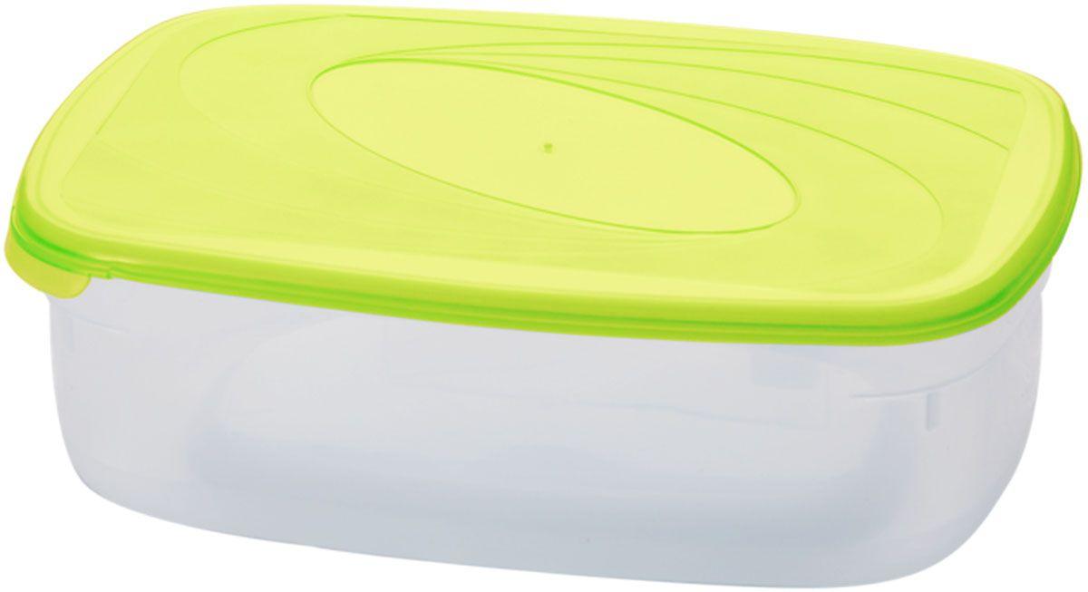 Емкость для СВЧ Plastic Centre Galaxy, цвет: светло-зеленый, прозрачный, 750 млПЦ2221ЛММногофункциональная емкость Plastic Centre Galaxy,выполненная из пластика, предназначена для храненияразличных продуктов, разогрева пищи, а также длязамораживания ягод и овощей в морозильной камере. Прихранении продуктов емкости можно ставить одну на другую,сохраняя полезную площадь холодильника или морозильнойкамеры. Размер контейнера: 19, 2 х 12,5 х 5 см. Объем контейнера: 750 мл.