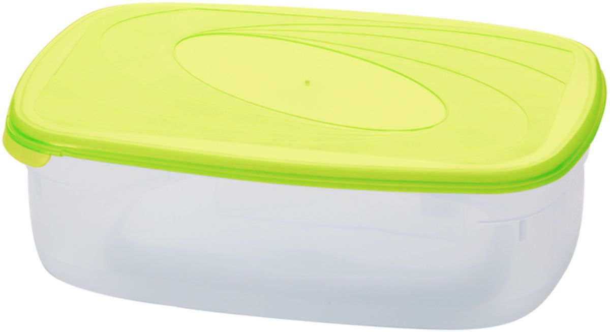Емкость для СВЧ Plastic Centre Galaxy, цвет: светло-зеленый, прозрачный, 1,6 лПЦ2222ЛММногофункциональная емкость для хранения различных продуктов, разогрева пищи, замораживания ягод и овощей в морозильной камере и т.п. При хранении продуктов емкости можно ставить одну на другую, сохраняя полезную площадь холодильника или морозильной камеры.Размер контейнера: 22,5 х 15,5 х 7 см.Объем контейнера: 1,6 л.