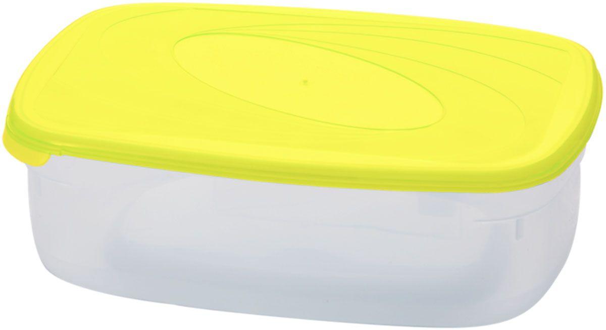 Емкость для СВЧ Plastic Centre Galaxy, цвет: желтый, прозрачный, 1,6 лПЦ2222ЛМНМногофункциональная емкость для хранения различных продуктов, разогрева пищи, замораживания ягод и овощей в морозильной камере и т.п. При хранении продуктов емкости можно ставить одну на другую, сохраняя полезную площадь холодильника или морозильной камеры.Размер контейнера: 22,5 х 15,5 х 7 см.Объем контейнера: 1,6 л.