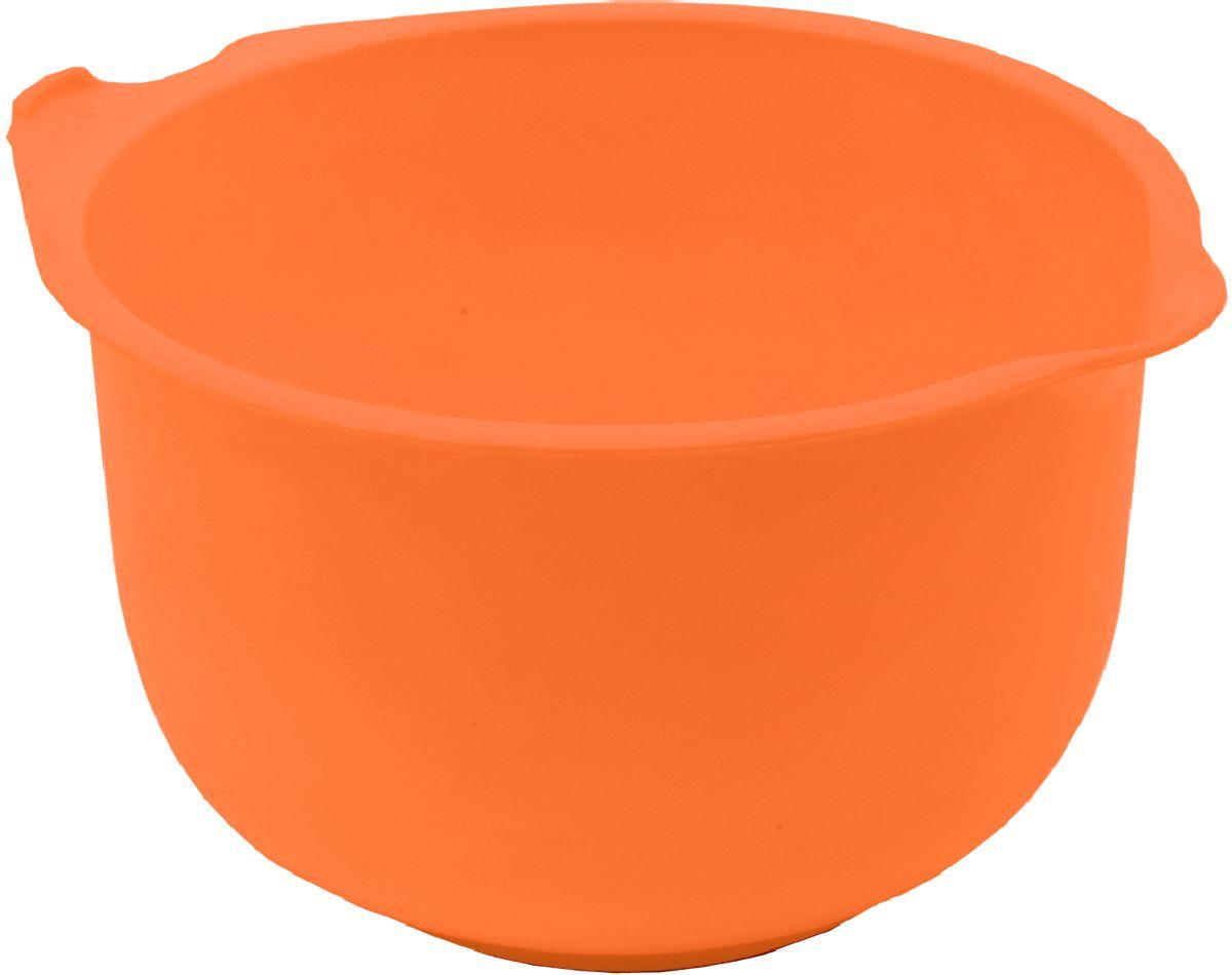 Миска мерная Plastic Centre, цвет: оранжевый, 1,5 л centre speaker