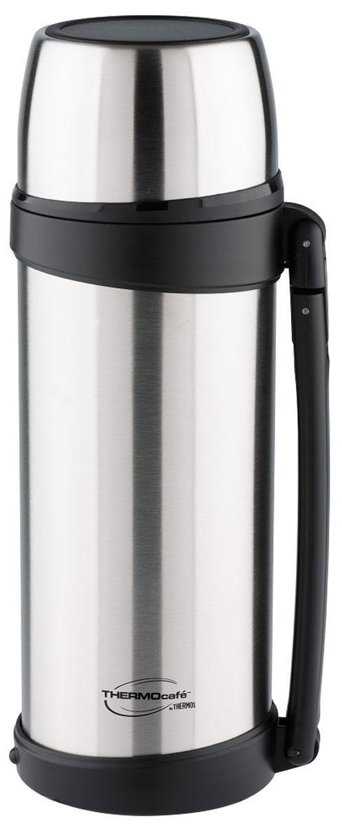 Термос Thermocafe By Thermos, цвет: стальной, 1 л. XTGH9-100 термос для еды 0 42 л thermocafe by thermos vc 420 grey 272416
