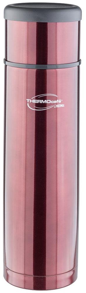 Термос Thermocafe By Thermos, цвет: кофейный, 1 л. EveryNight-50272201EveryNight-50 идеальный термос, чтобы взять с собой горячий кофе, ледяной чай или другой любимый напиток Крышка термоса служит кружкой для питья . Ее конструкция не дает внешней поверхности нагреваться. Пробка позволяет добраться до содержимого, не извлекая ее полностью, нужно только повернуть пробку не откручивая целиком.Строение пробки не позволит случайно пролиться жидкости и помогает сохранить температуру содержимого долгое время.Объем: 1 л.