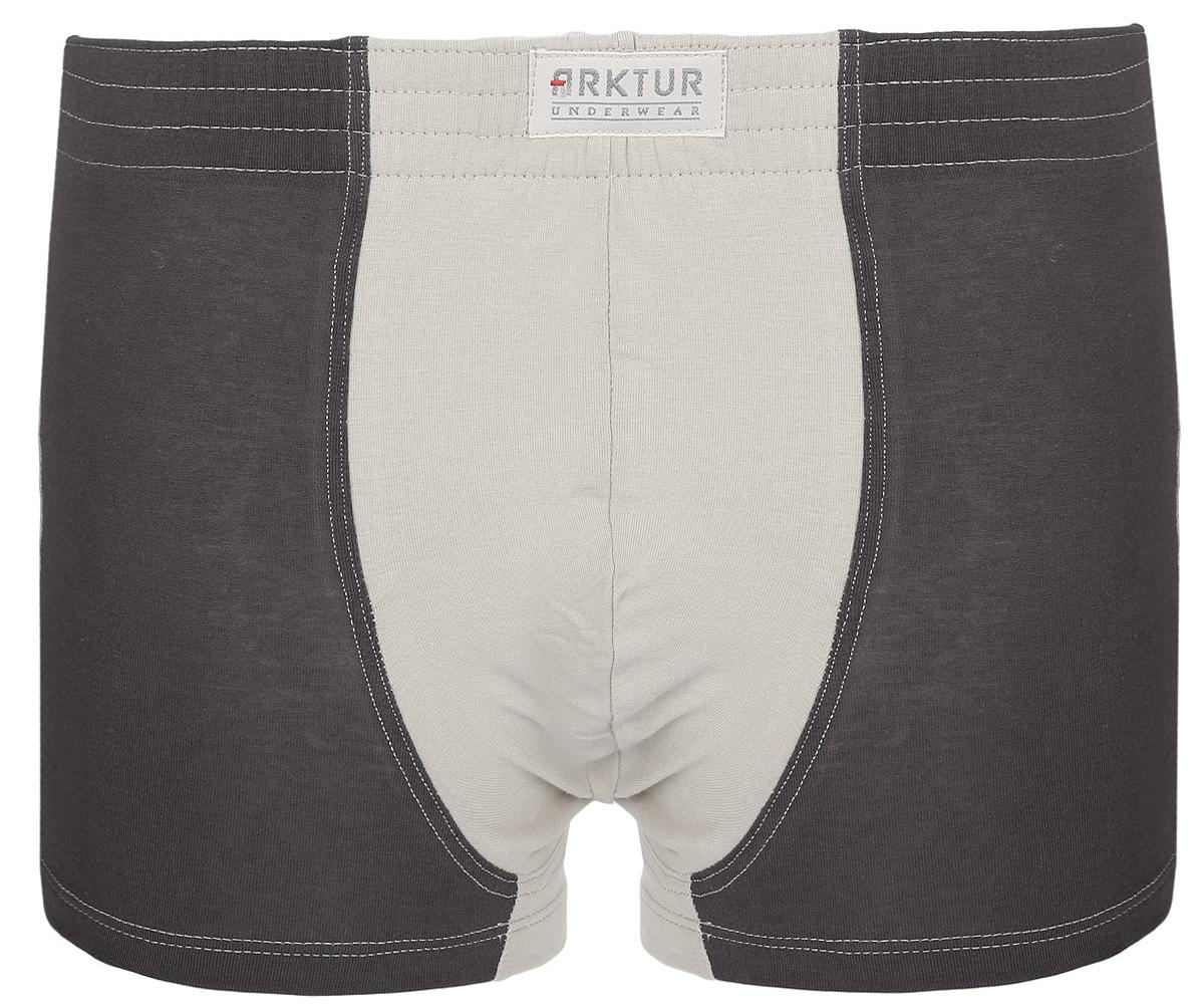 Трусы-боксеры мужские Arktur Toronto combi, цвет: светло-бежевый, темно-серый. Размер S (46)