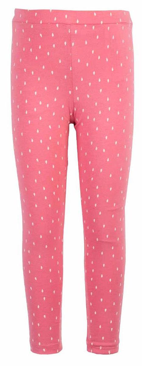 Леггинсы для девочки Button Blue Main, цвет: коралловый. 117BBGC13012204. Размер 98, 3 года джинсы для девочки button blue main цвет голубой 117bbgc6304d200 размер 98 3 года