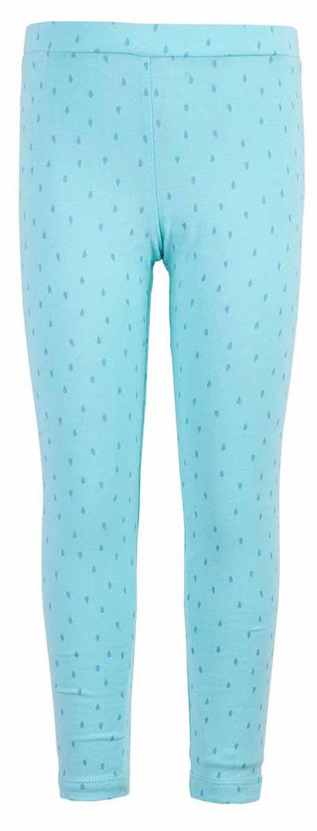 Леггинсы для девочки Button Blue Main, цвет: ментоловый. 117BBGC13012604. Размер 98, 3 года джинсы для девочки button blue main цвет голубой 117bbgc6304d200 размер 98 3 года