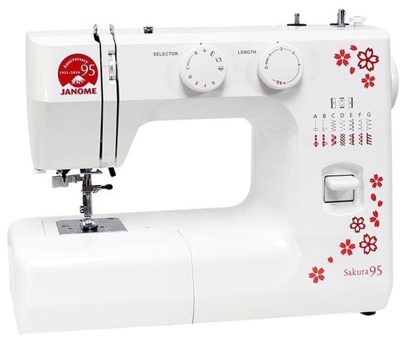 Janome Sakura 95 швейная машина швейная машина janome sew dream 510