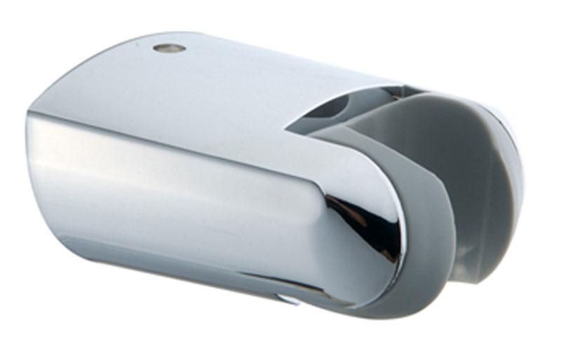 Держатель душевой лейки Iddis. 020CP00I53020CP00I53Держатель для лейки Iddis изготовлен из ABS-пластика, высокопрочного и легкого материала, с надежным никель-хромовым покрытием, которое гарантирует идеальный зеркальный блеск и защиту изделия на долгий срок. Держатель предусматривает возможность регулировки наклона лейки, что позволяет размещать ее под комфортным углом.В комплект входят крепления.