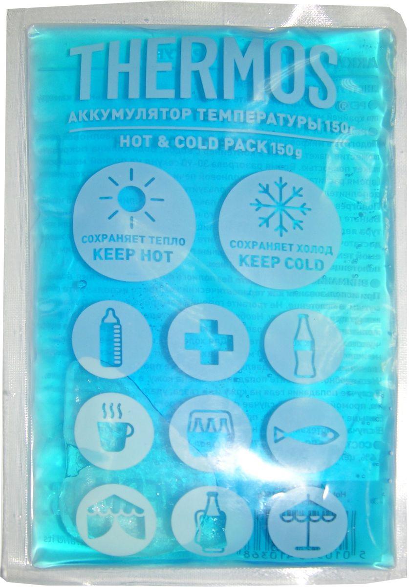 Аккумулятор температуры Thermos Gel Pack, цвет: синий, 150 г410368Аккумулятор температуры Thermos очень универсальный в применении. Он используется для поддержания как низкой, так и высокой температуры. Замораживается, разогревается и всегда остается мягким.Вес: 150 гр.