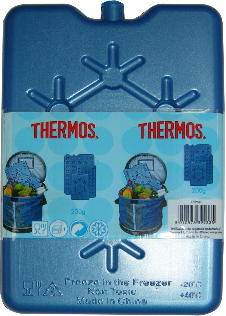 Аккумулятор холода Thermos Freezing Board, цвет: синий, 1 шт, 200 г термосумки thermos аккумулятор холода medium size freezing board 400 г