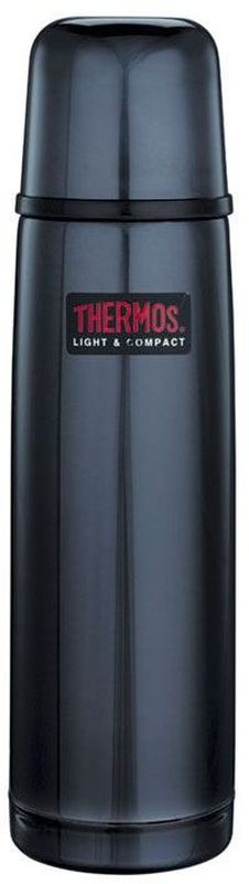 Термос Thermos, цвет: темно-синий, 0,5 л. FBB 500BC836045Термосы из нержавеющей стали FBB предпочитают приверженцы высоких технологий и всего самого совершенного. Небьющиеся стенки термоса из нержавеющей пружинной стали 18/8 способны противостоять внешним повреждениям и вмятинам. Удобная пробка клапанного типа, открывающаяся одним нажатием, легко разбирается для чистки. Чашка-крышка из нержавеющей стали позволит наслаждаться своим напитком, где бы в любом месте. Этот термос очень легкий и компактный, удобен в транспортировке и хранении.Объем: 500 мл.