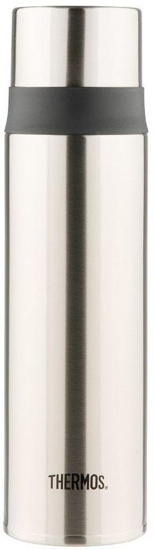 Термос Thermos, цвет: стальной, 500 мл. FFM-500934420Термос Thermos это суперлегкий и супертонкий термос, выполненный из стали, он весит всего 270 гр.У термоса имеется фиксатор от случайного открытия, крышка откидывается полностью и фиксируется, поэтому он очень удобендля использования в движении, в автомобиле.Чашка-крышка из нержавеющей стали позволит Вам наслаждаться своим напитком, где бы вы ни были.Объем: 500 мл.