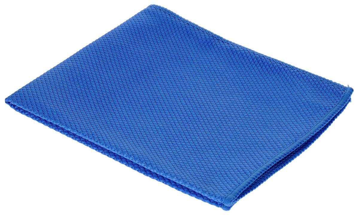 Салфетка чистящая для удаления сильных загрязнений Sapfire, цвет: синий, 35 см х 40 см3023-SFMПрекрасное средство Sapfire предназначено для бережной очистки от сильных загрязнений. Великолепно удаляет пыль и грязь с любой поверхности. Клиновидные микроскопические волокна захватывают и легко удерживают частички пыли, жировой и никотиновый налет, микроорганизмы, в том числе болезнетворные и вызывающие аллергию.Материал салфетки (микрофибра) обладает уникальной способностью быстро впитывать большой объем жидкости (в 8 раз больше собственной массы). Салфетка великолепно моет и сушит. Протертая поверхность становится идеально чистой, сухой, блестящей, без разводов и ворсинок.