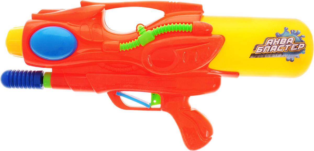 ABtoys Аквабластер цвет желтый оранжевый игрушка abtoys аквабластер s 00117