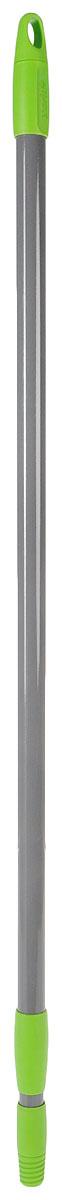 Рукоятка телескопическая York, цвет: серый, салатовый, 85-150 см9105_серый/салатовыйТелескопическая рукоятка York выполнена из металла со специальным матовым покрытием. Изделие оснащено отверстием, которое позволит повесить его на крючок. Универсальная резьба подходит ко всем швабрам и щеткам. Рукоятка телескопическая, то есть регулируется по длине. Длина: 85-150 см.Диаметр: 2,2 см.