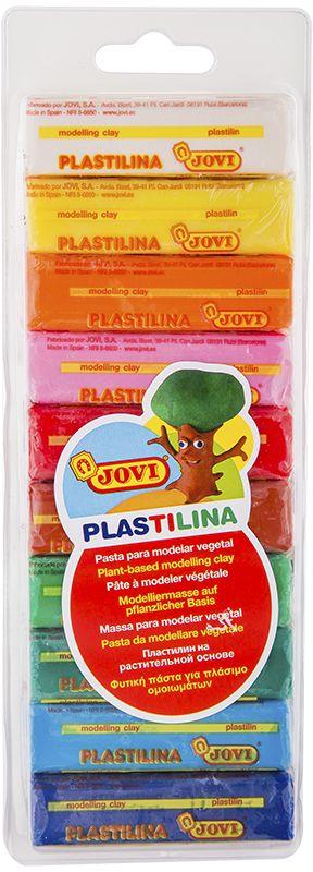 Jovi Пластилин 10 цветов 250 г31Легендарный пластилин Jovi на растительной основе идеален для начала обучения лепке и для уроков в школе и творческих студиях. Благодаря усовершенствованной формуле с воском пластилин Jovi безопасен, обладает повышенной пластичностью, хорошо лепится, прекрасно держит форму, не деформируется, легко извлекается из формочки, не крошится, не высыхает, цвета прекрасно смешиваются между собой, слепленные фигурки не опадают со временем. Используется для техники Рисование пластилином и пластилиновой мультипликации. Не пачкает руки, снимается с любой поверхности без усилий, не оставляя пятен. Гипоаллергенен, без консервантов, не содержит глютен. Набор пластилина на растительной основе из 10 цветов (белый, желтый, оранжевый, розовый, красный, малиновый, голубой, синий, зеленый, темно-зеленый) по 25 грамм в плотном блистере.