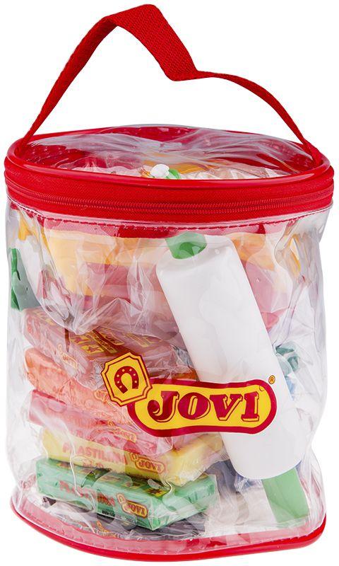 Jovi Пластилин 12 цветов 600 г340Легендарный пластилин Jovi на растительной основе идеален для начала обучения лепке и для уроков в школе и творческих студиях. Благодаря усовершенствованной формуле с воском пластилин Jovi безопасен, обладает повышенной пластичностью, хорошо лепится, прекрасно держит форму, не деформируется, легко извлекается из формочки, не крошится, не высыхает, цвета прекрасно смешиваются между собой, слепленные фигурки не опадают со временем. Используется для техники Рисование пластилином и пластилиновой мультипликации. Не пачкает руки, снимается с любой поверхности без усилий, не оставляя пятен. Гипоаллергенен, без консервантов, не содержит глютен. Набор для лепки: пластилин на растительной основе 12 цветов по 50 грамм, 12 форм, 3 стека и скалка в мягком пластиковом контейнере. Страна производства Испания.