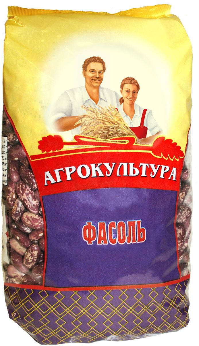 Агрокультура фасоль, 700 г агрокультура рис для каши 800 г