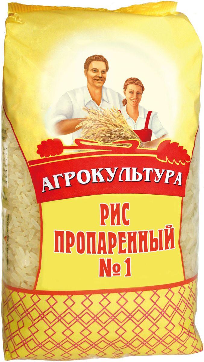 Агрокультура рис длиннозерный пропаренный №1, 800 г националь рис длиннозерный пропаренный золотистый 900 г