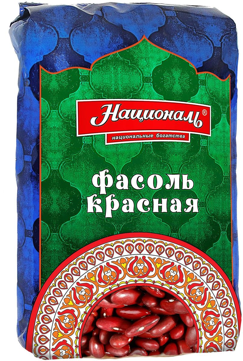 Националь фасоль красная, 450 г сибирская клетчатка sk fiberia sport фитококтейль клетчатка клубника 350 г
