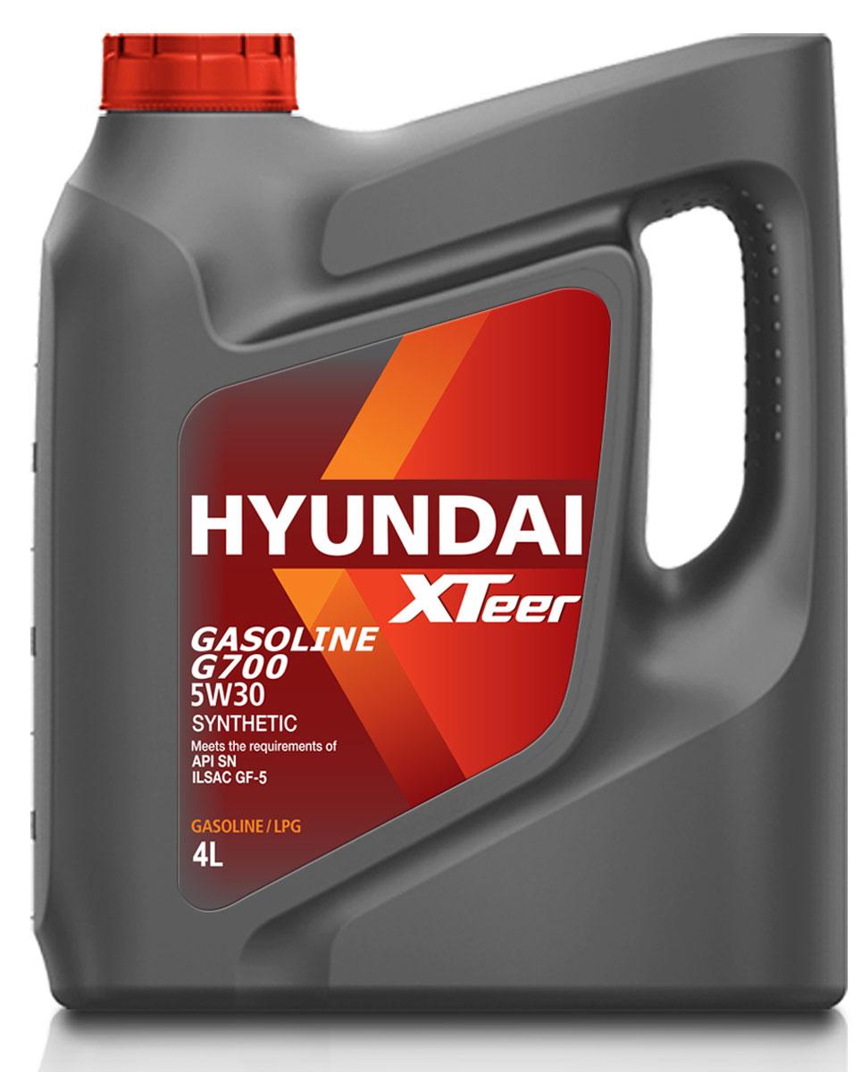 Масло моторное XTeer Gasoline, G700 5W-30 SN, 4 л1041135XTeer Gasoline G700 передовое синтетическое моторное масло для автомобилей премиум-класса, разработанное с применением новейших передовых технологий. XTeer Gasoline G700 соответствует требованиям современной градации новейших моторных масел API SN и ILSAC GF-5.Обеспечивает максимальную защиту и смазку всех типов бензиновых двигателей легковых автомобилей.