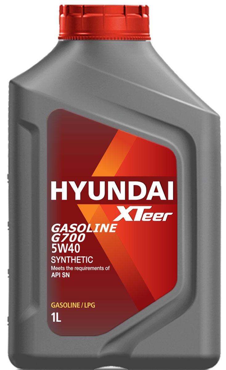Масло моторное XTeer Gasoline, G700 5W-40 SN, 1 л моторное масло eneos ecostage 0w20 sn 4л синт