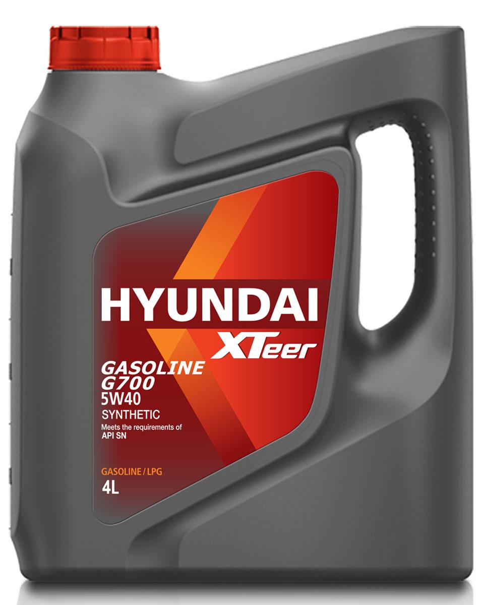 Масло моторное XTeer Gasoline, G700 5W-40 SN, 4 л1041136XTeer Gasoline G700 передовое синтетическое моторное масло для автомобилей премиум-класса, разработанное с применением новейших передовых технологий. XTeer Gasoline G700 соответствует требованиям современной градации новейших моторных масел API SN. Обеспечивает максимальную защиту и смазку всех типов бензиновых двигателей легковых автомобилей.