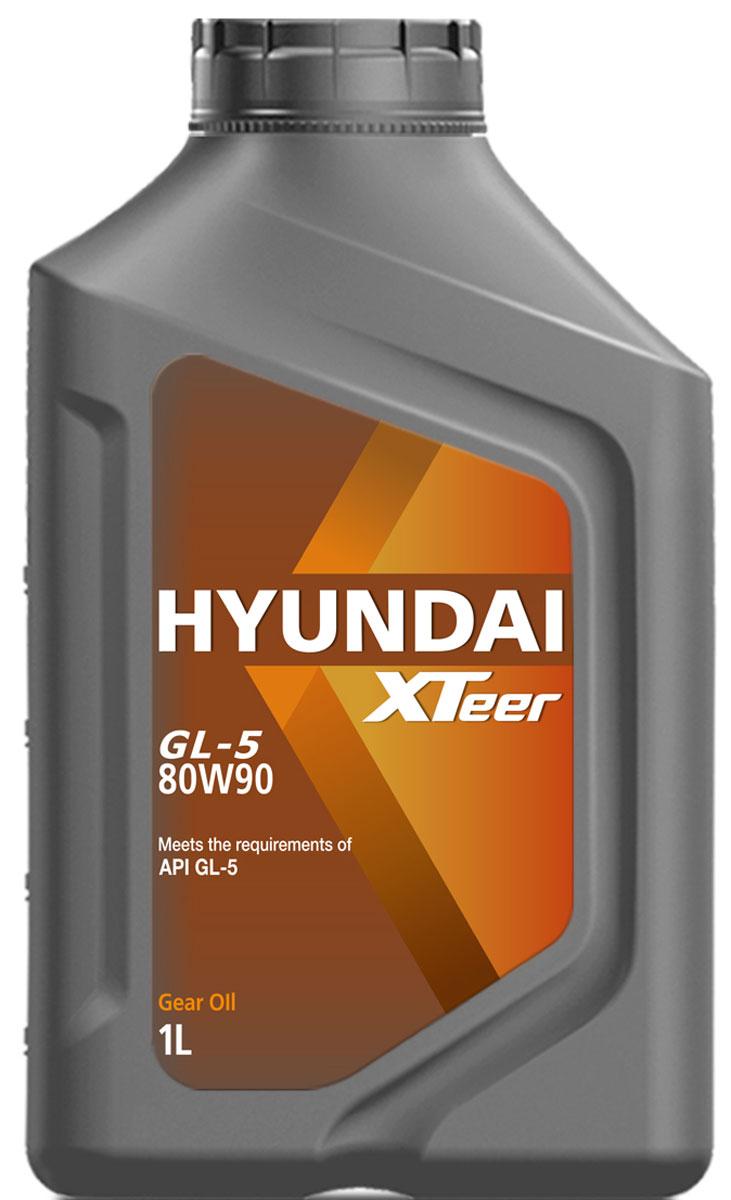 Масло трансмиссионное Hyundai Xteer Gear Oil-5, 80W-90, 1 л1011017XTeer Gear Oil-5 передовая синтетическая трансмиссионная жидкость для механических коробок передач, разработанная для представительских автомобилей самых последних технологий. XTeer Gear Oil-5 обеспечивает превосходную защиту от понижения уровня вязкости. Особенно рекомендована, когда водитель указывает трансмиссионное масло Gear Oil-5с допуском вязкости SAE80W90.