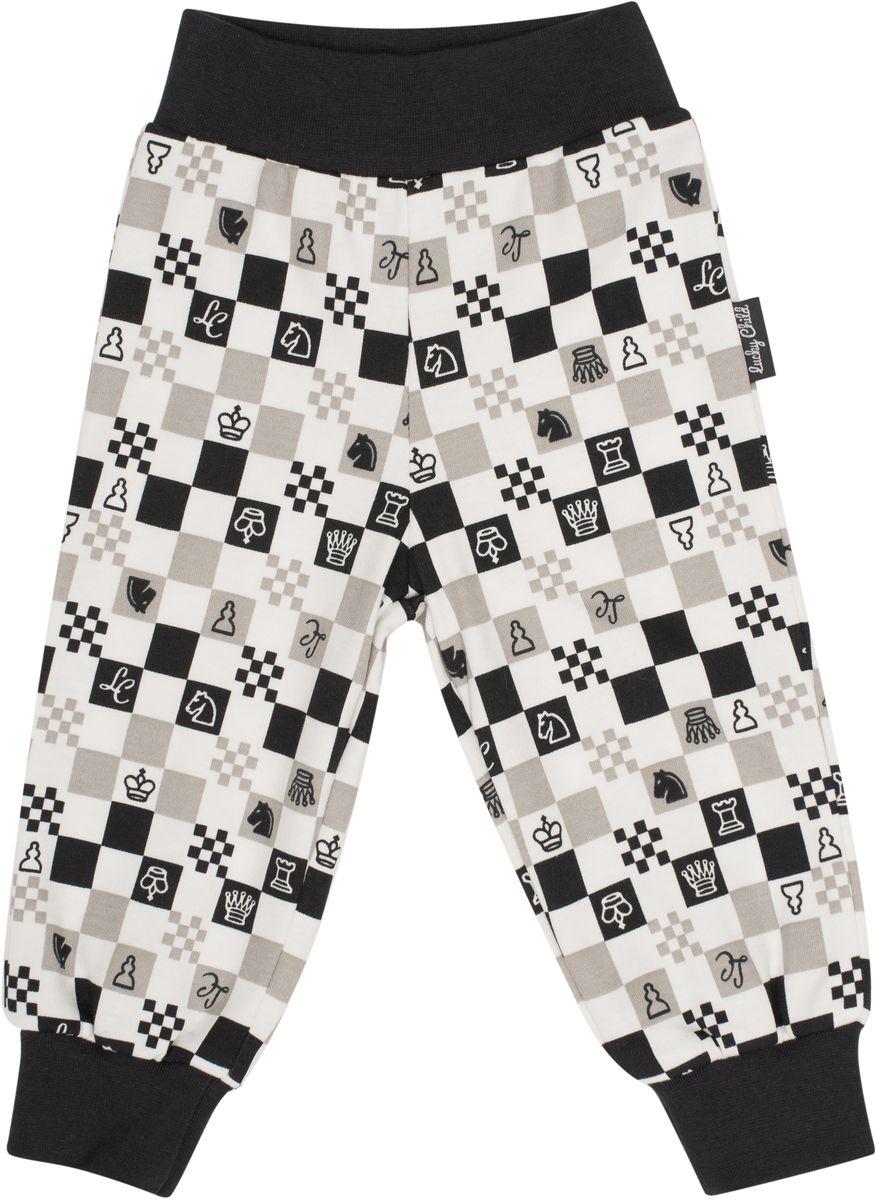 Штанишки детские Lucky Child, цвет: молочный, темно-серый, бежевый. 29-11. Размер 86/92 пижамы lucky child пижама