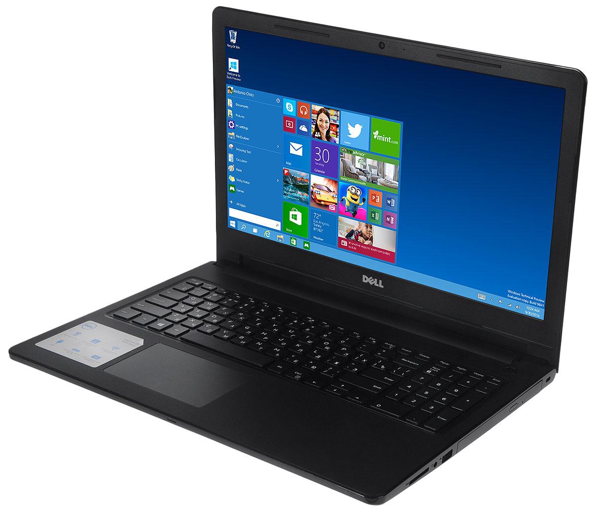 Dell Inspiron 3565, Black (3565-7713) dell inspiron 5368 5438 отзывы