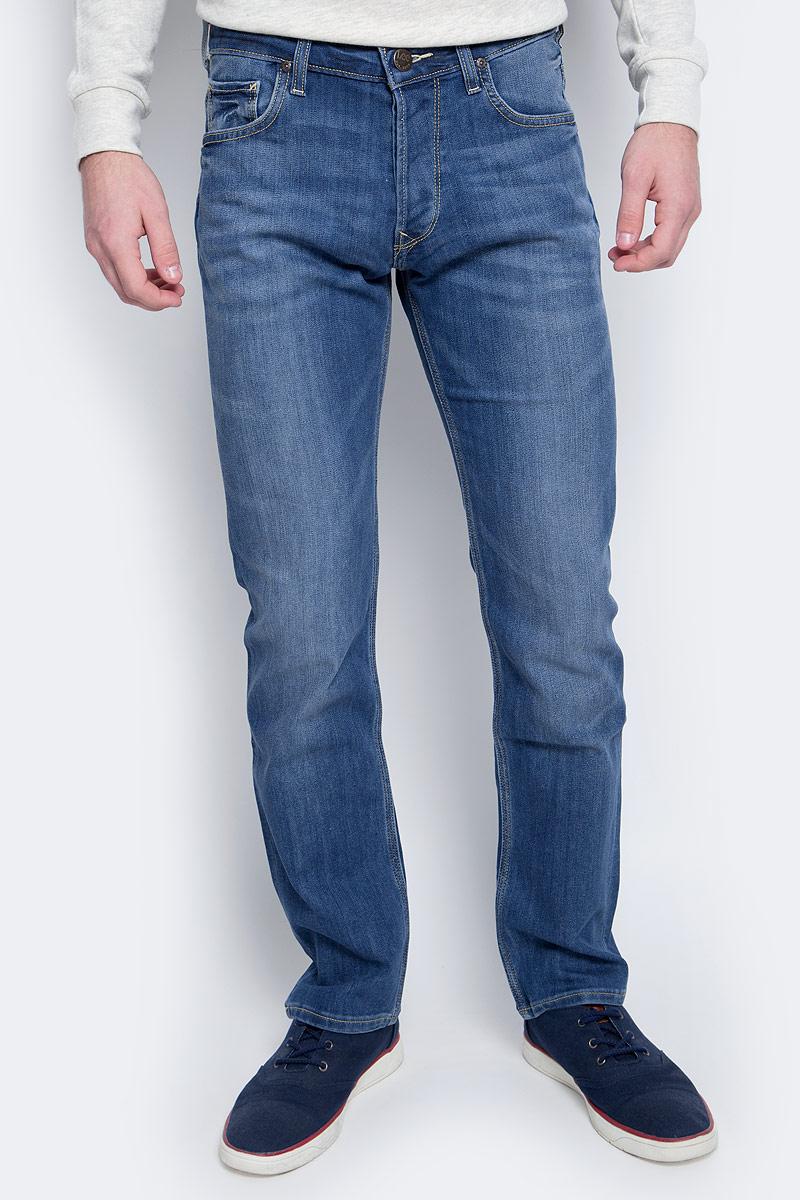 Джинсы мужские Lee, цвет: синий. L704AAUI. Размер 33-34 (48/50-34) джинсы мужские tom tailor denim цвет голубой 6204155 00 12 1062 размер 33 34 48 50 34