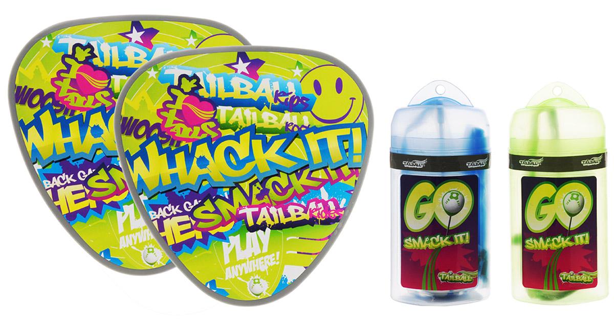 Mookie Игровой набор для тенниса спортивный инвентарь mookie набор для бадминтона tailball light 150g