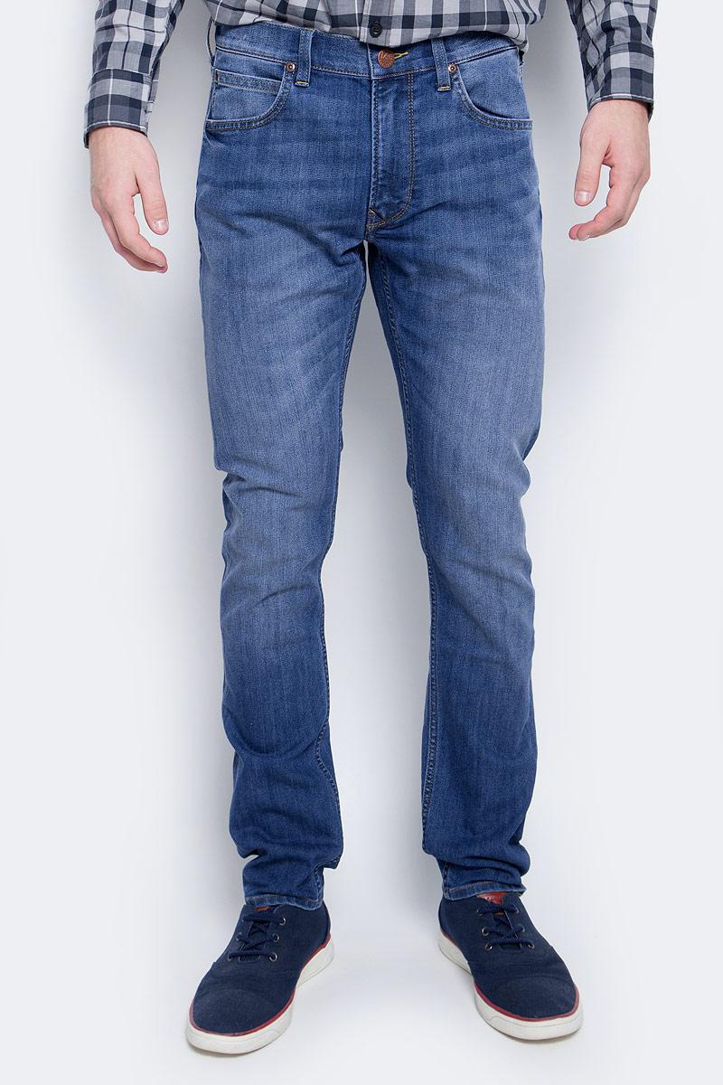 Купить Джинсы мужские Lee, цвет: синий. L719ACDK. Размер 33-32 (48/50-32)