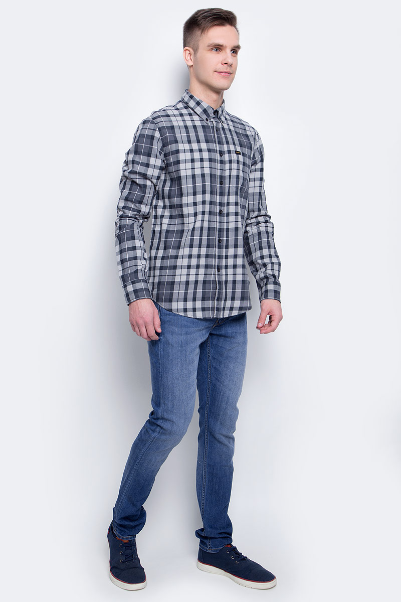Джинсы мужские Lee, цвет: синий. L719ACDK. Размер 32-32 (48-32)L719ACDK