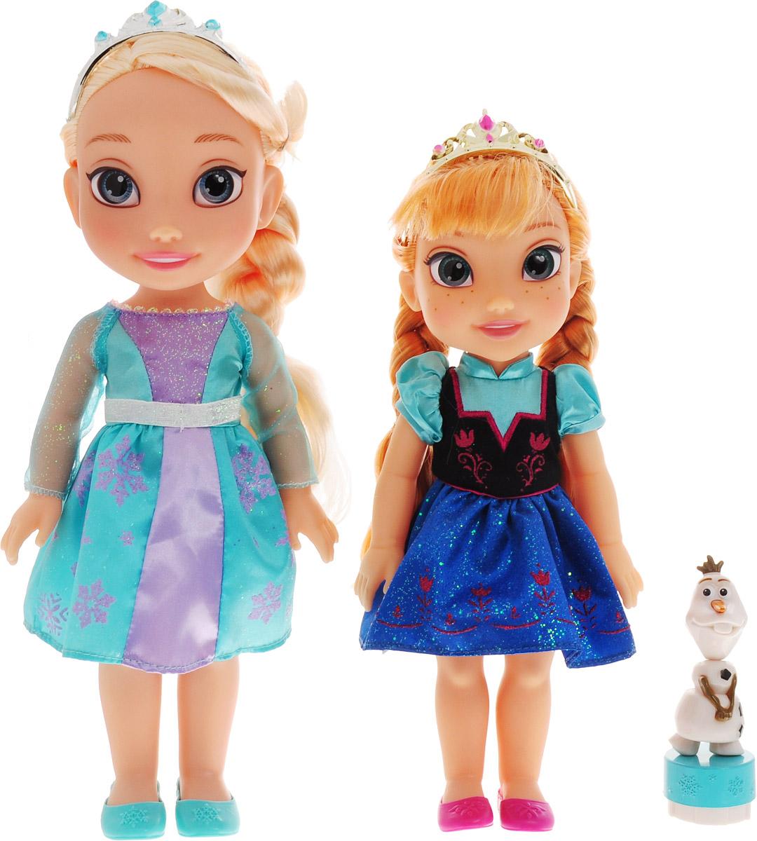 Disney Princess Игровой набор с мини-куклами Холодное cердце Эльза, Анна и Олаф игровые наборы disney princess игровой набор моана в ассортименте