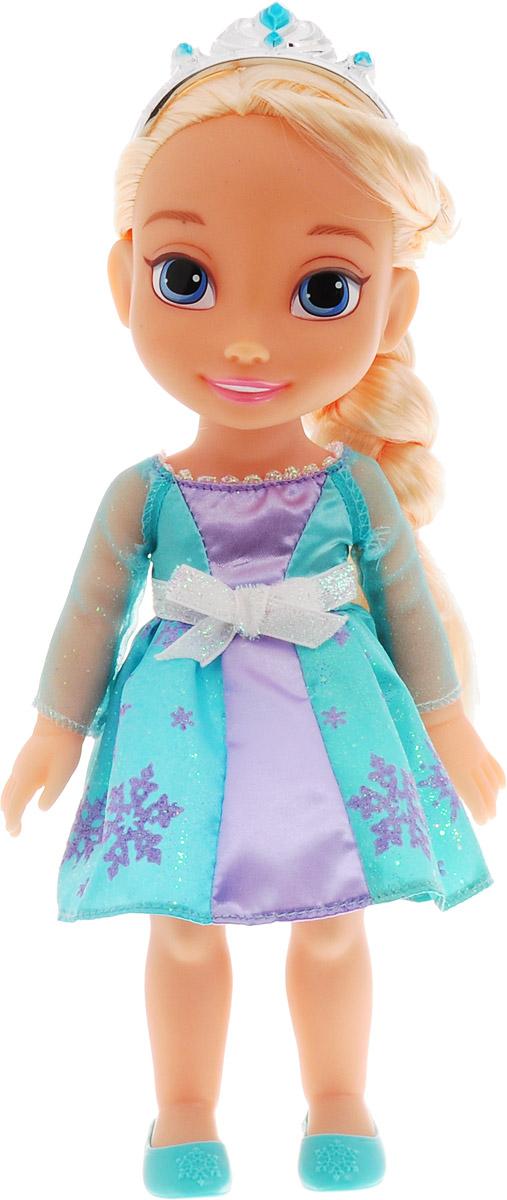 Disney Frozen Кукла Малышка Эльза цвет платья светло-бирюзовый сиреневый кукла disney frozen холодное сердце в наряде с проявляющимся рисунком 28 см в ассортименте