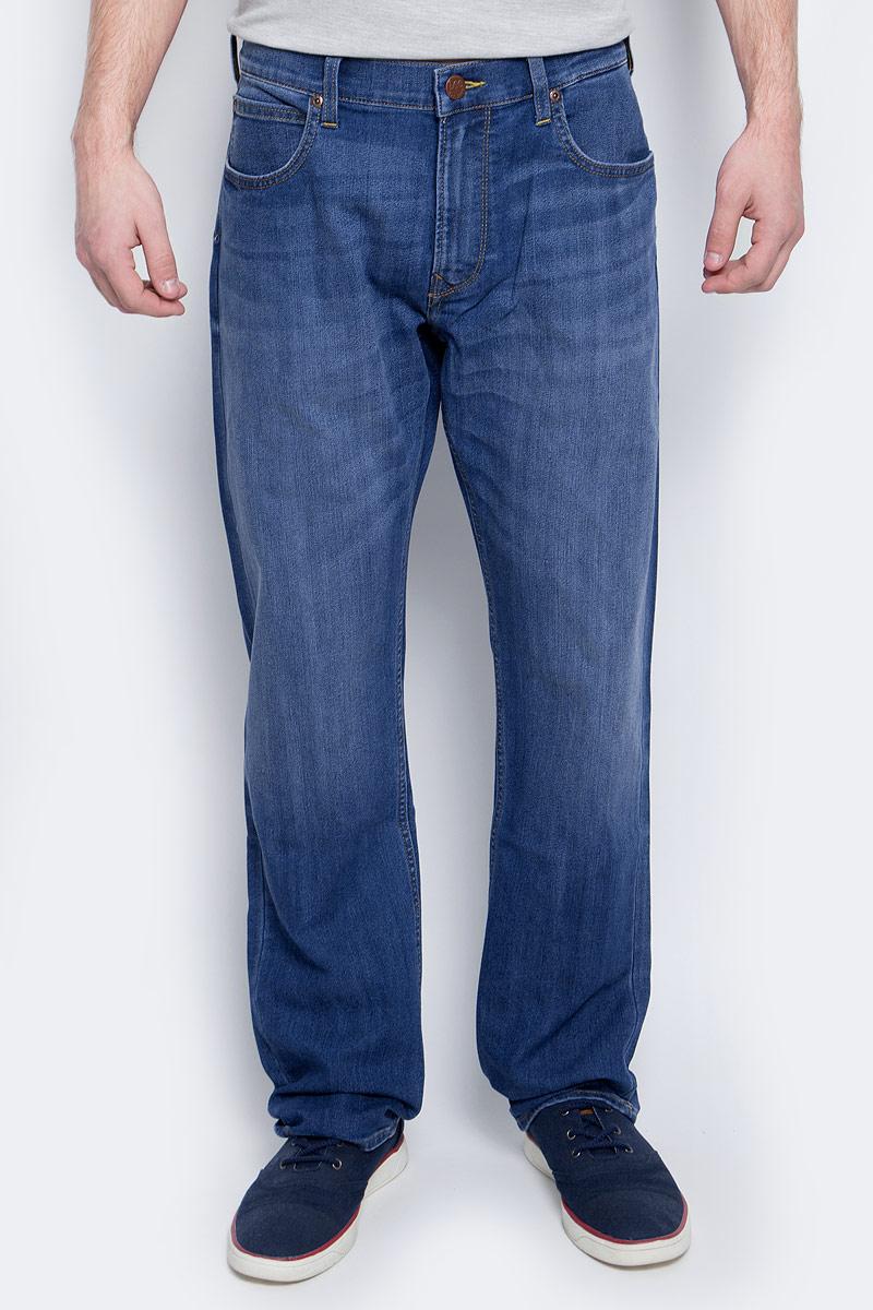 Купить Джинсы мужские Lee, цвет: голубой. L730ACDK. Размер 33-34 (48/50-34)